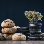 single cannabis nug infused chocolate chips cookies marijuana chef