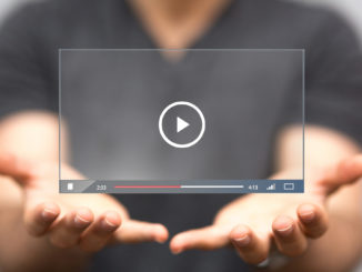playing a video